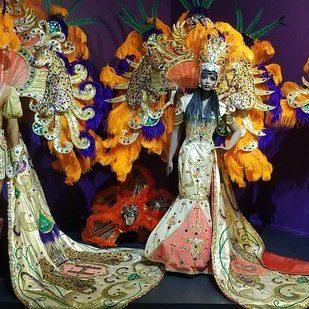 costumes at Mardi Gras Museum