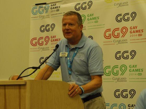 Thomas Nobbe, executive director of the 2014 Gay Games