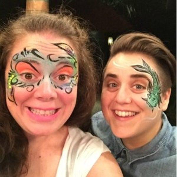 Lindsey Averill and Viridiana Lieberman