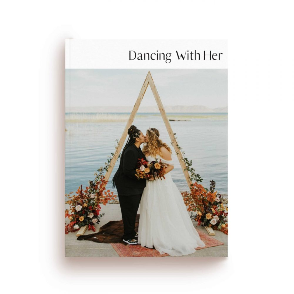 magazine cover of dancing with her