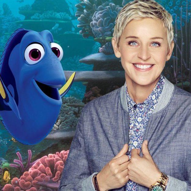 Ellen DeGeneres Finding Dory