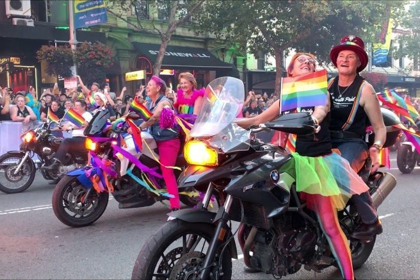 Dykes On Bikes And The Long Road To Mardi Gras - Lesbians news