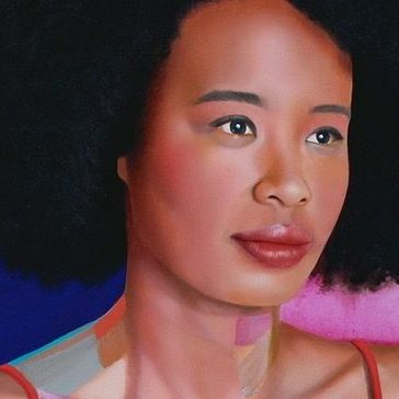 Queer Archibald Finalist Paints Openly Queer Media Personality Faustina Agolley