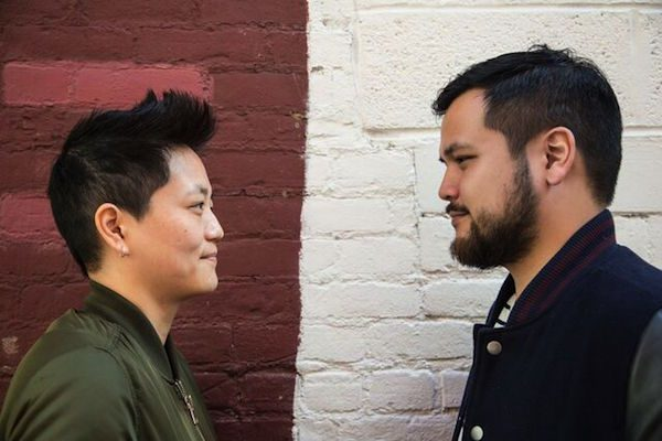 Kathy Tu and Tobin Low; courtesy of New York Public Radio