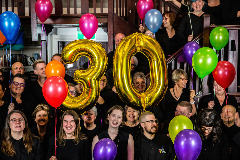 Melbourne gay and lesbian chorus 30 years