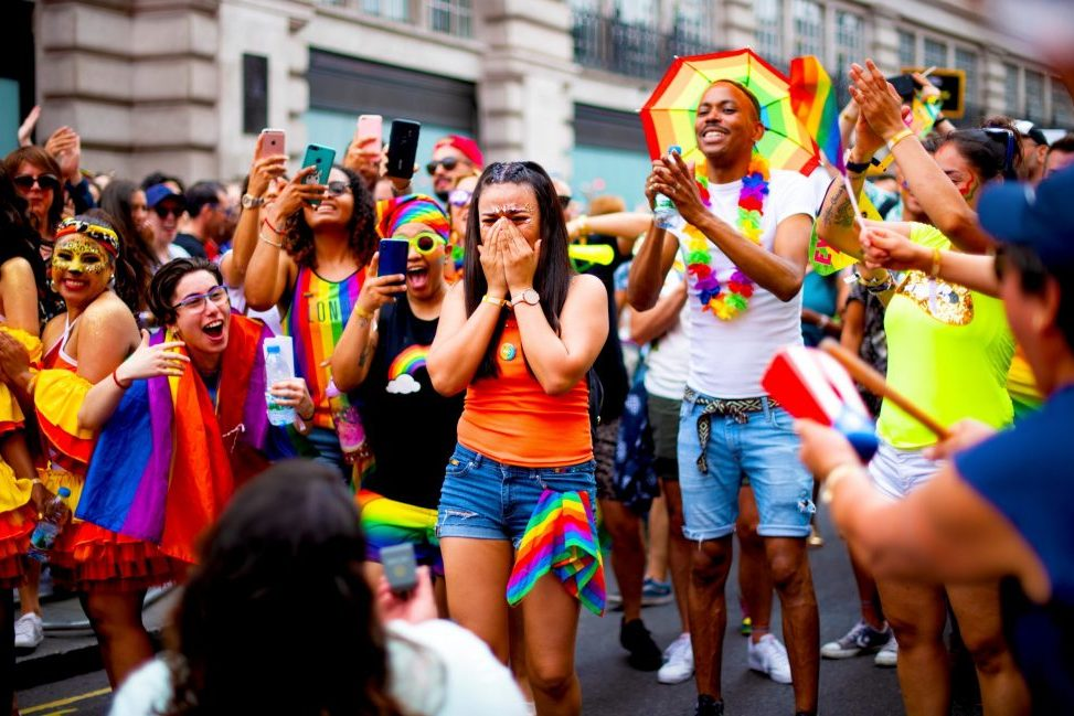 Overall Winner and Love Your Partner Winner_ Jamie Thistlethwaite - Proposal at London Pride 2019