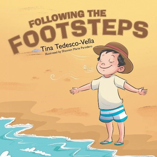book cover of following the footsteps