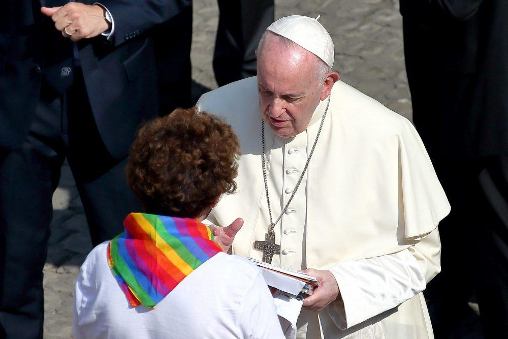 pope francis civil union