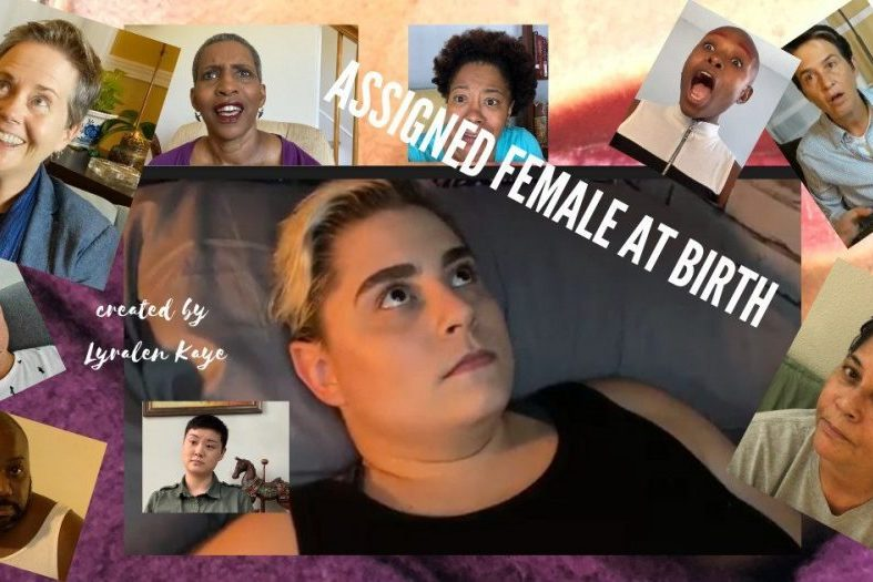 poster for assigned female at birth
