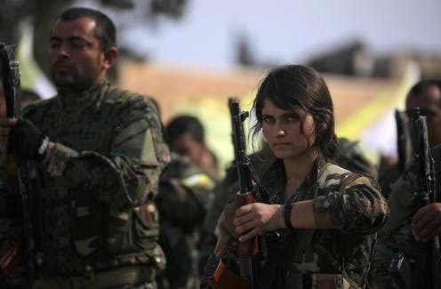 Kurds Targeted In Turkish Attack Include Thousands Of Female Fighters Who Battled Islamic State
