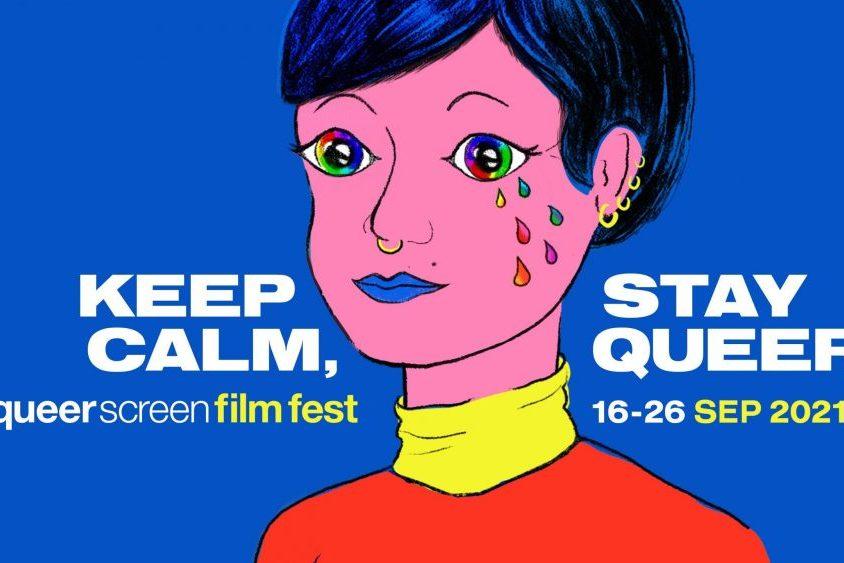 Queer Screen 2021 Poster