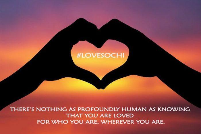 lovesochi campaign