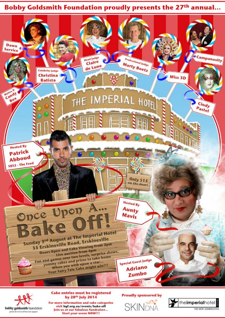 BGF Announces it's 2014 Bake Off